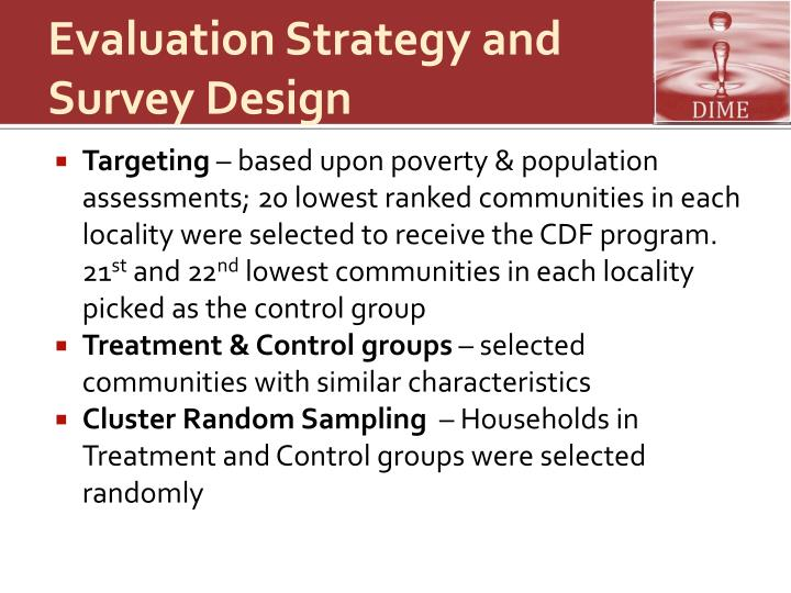 Evaluation Strategy and