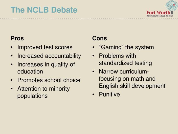 The NCLB Debate