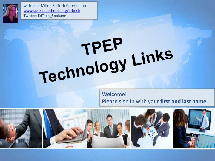 Tpep technology links