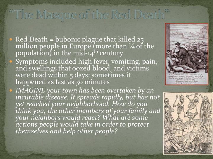 """""""The Masque of the Red Death"""""""