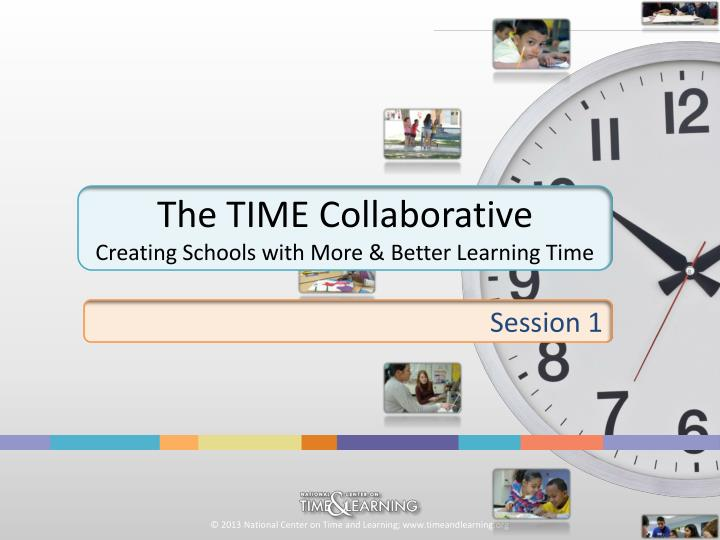 The TIME Collaborative
