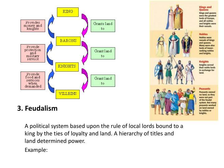 3. Feudalism