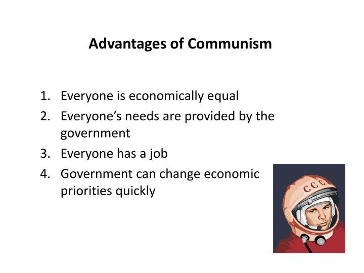 Advantages of Communism