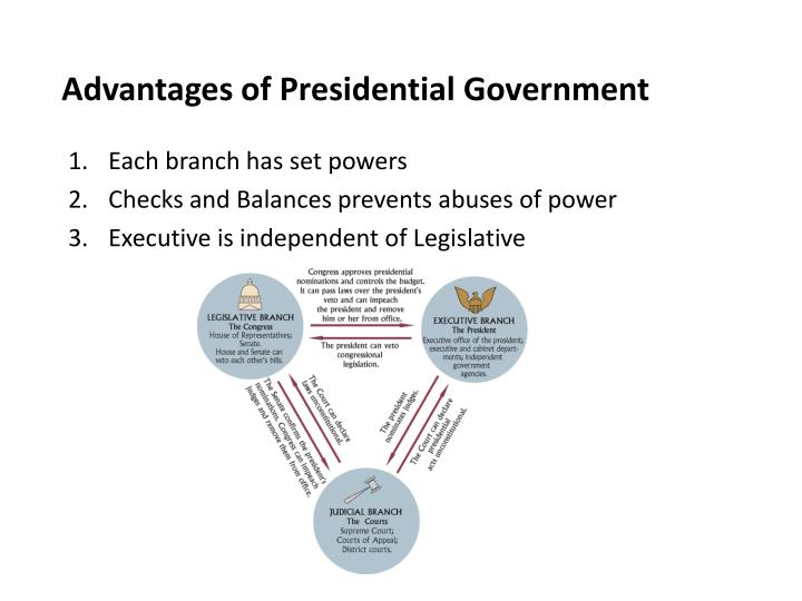 Advantages of Presidential Government
