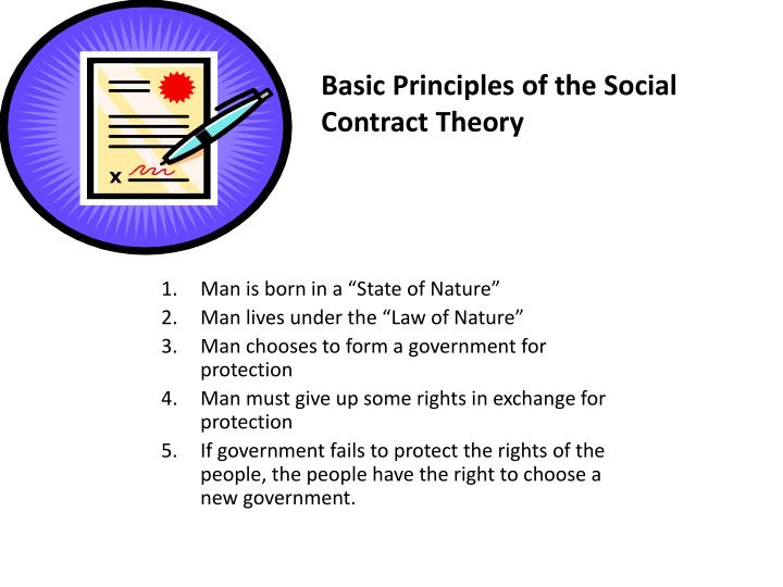 Basic Principles of the Social Contract Theory