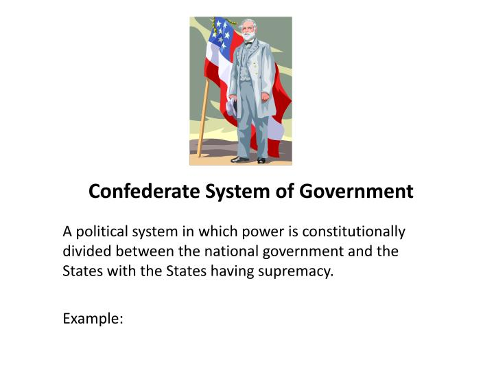 Confederate System of Government