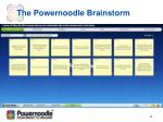 the powernoodle brainstorm