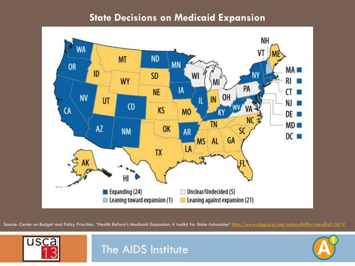 State Decisions on Medicaid Expansion