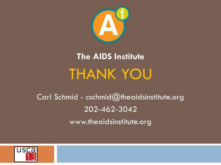 The AIDS Institute