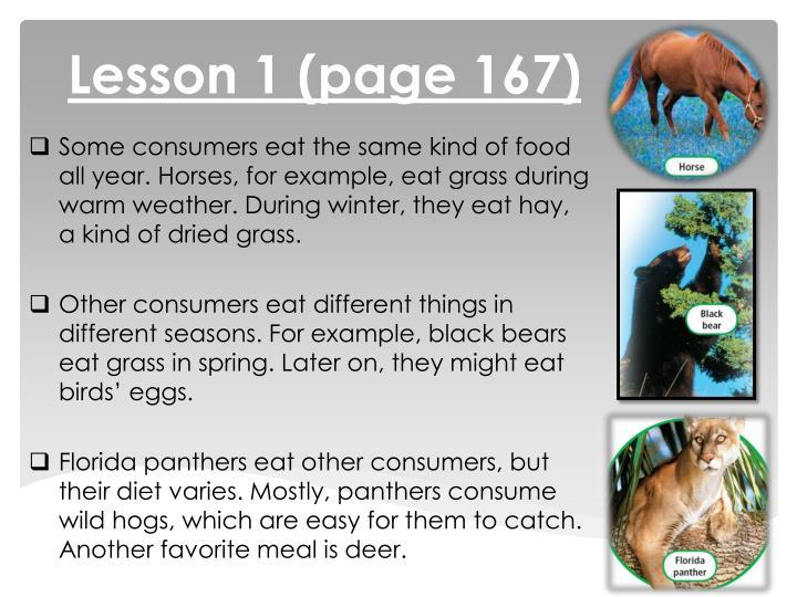 Lesson 1 (page 167)