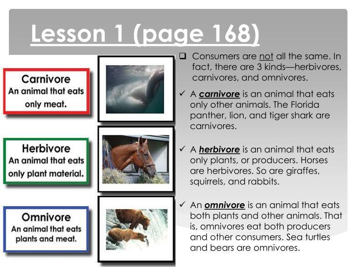 Lesson 1 (page 168)