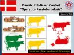 danish risk based control operation paratuberculosis