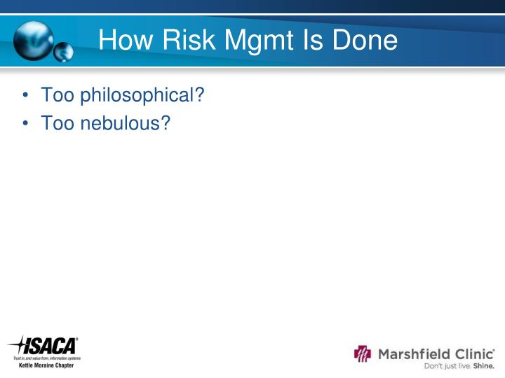How Risk