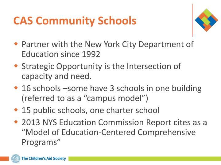 CAS Community Schools