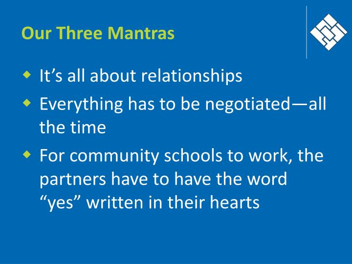 Our Three Mantras