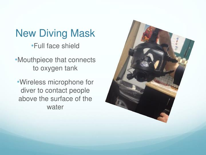 New Diving Mask