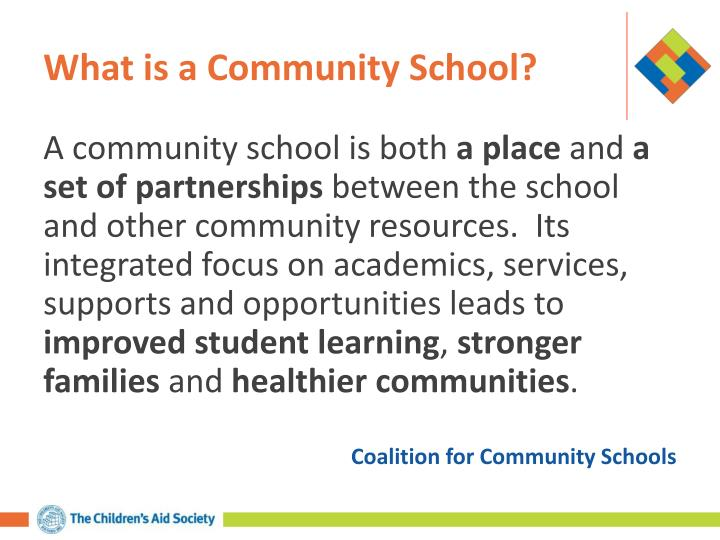 What is a Community School?