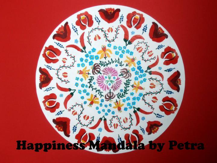 Happiness Mandala by Petra