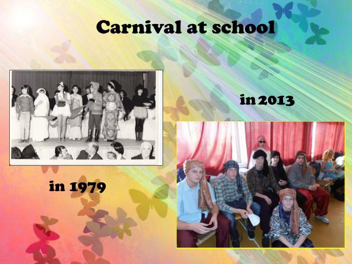 Carnival at school