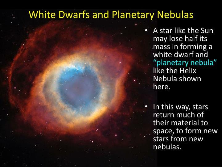 White Dwarfs and Planetary Nebulas
