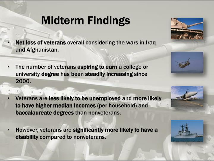 Midterm Findings