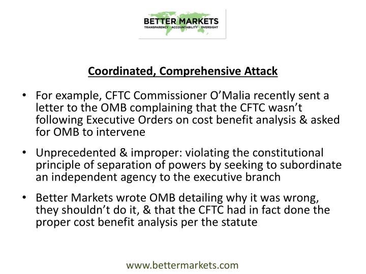 Coordinated, Comprehensive Attack