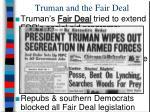 truman and the fair deal