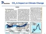 co 2 impact on climate change