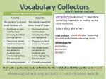 vocabulary collectors10