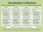 vocabulary collectors15