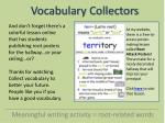 vocabulary collectors16
