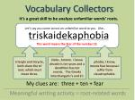 vocabulary collectors3