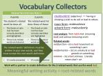 vocabulary collectors8