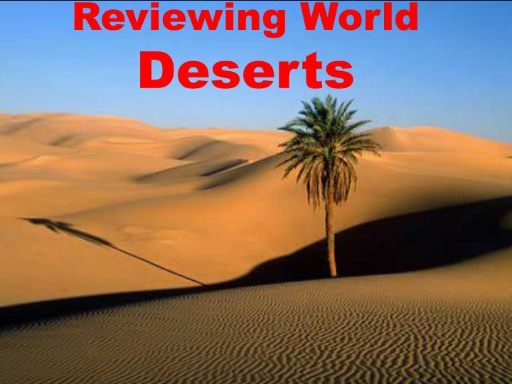 Reviewing World