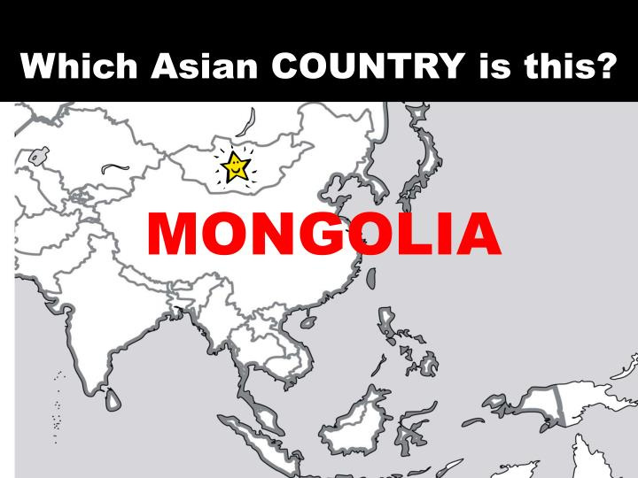 Which Asian COUNTRY is this?