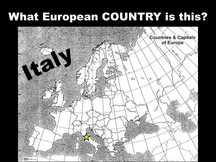 What European COUNTRY is this?
