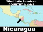 what latin american country is this