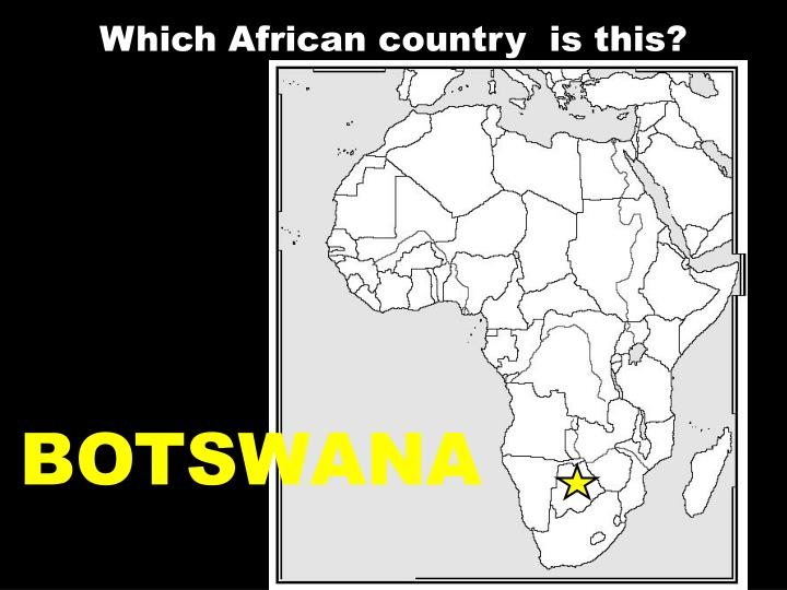 Which African country  is this?