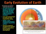 early evolution of earth1