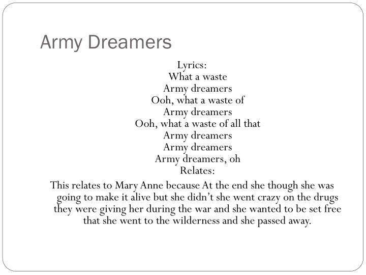 Army Dreamers