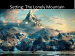 setting the lonely mountain
