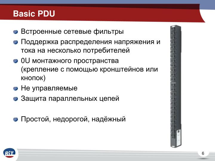 Basic PDU