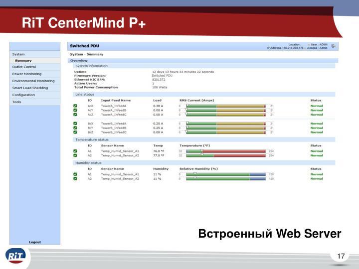 RiT CenterMind P+