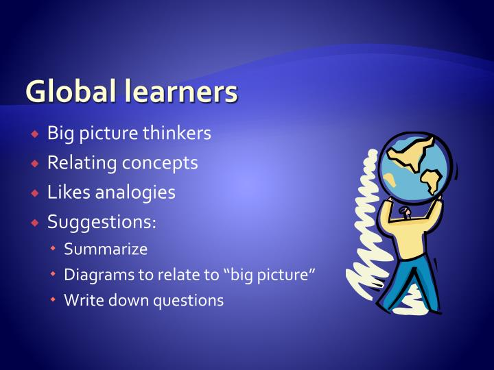 Global learners