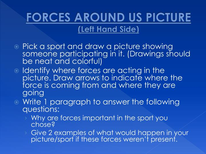 FORCES AROUND US PICTURE