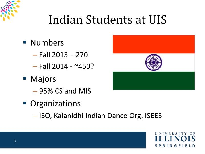 Indian Students at UIS