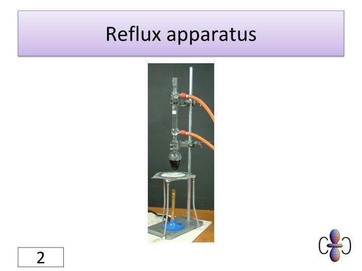 Reflux apparatus
