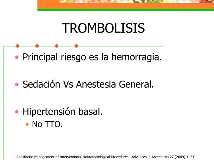 TROMBOLISIS