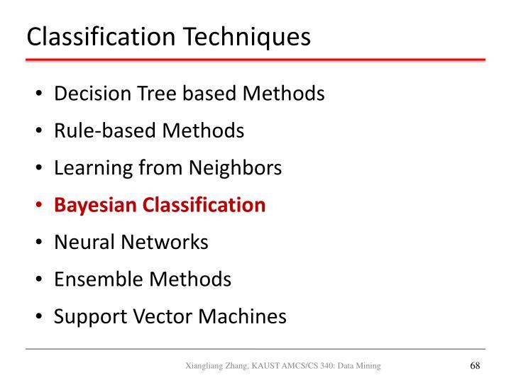 Decision Tree based Methods