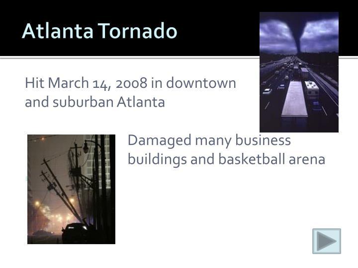 Atlanta Tornado